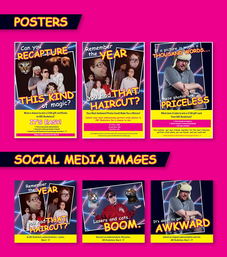 Download: all Awkward Photo Contest marketing materials