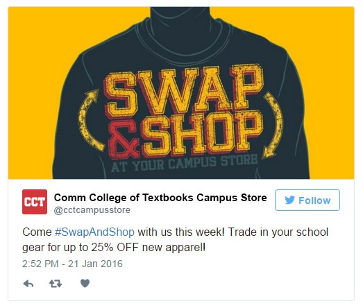 Download: Swap & Shop social media marketing kit