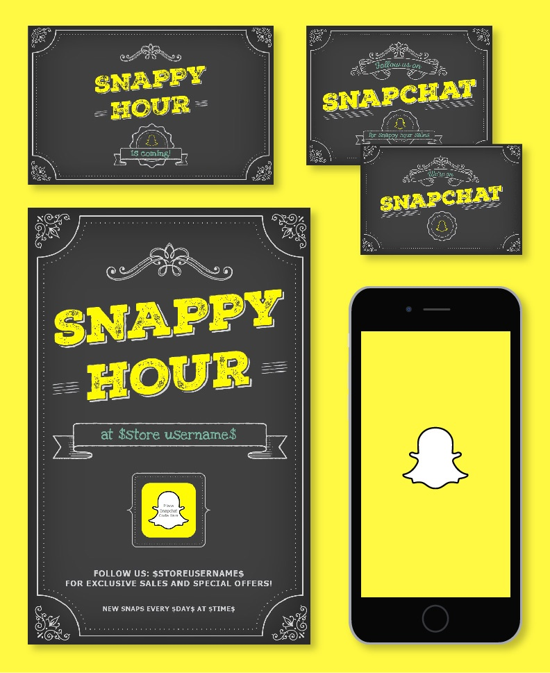 Download: all materials in Snappy Hour marketing kit