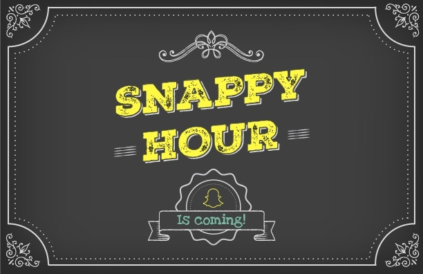 Download: custom Snappy Hour marketing materials