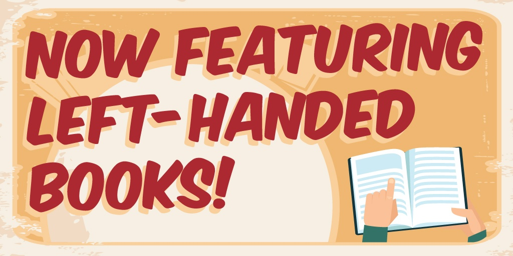 Download: Left-handed books marketing kit