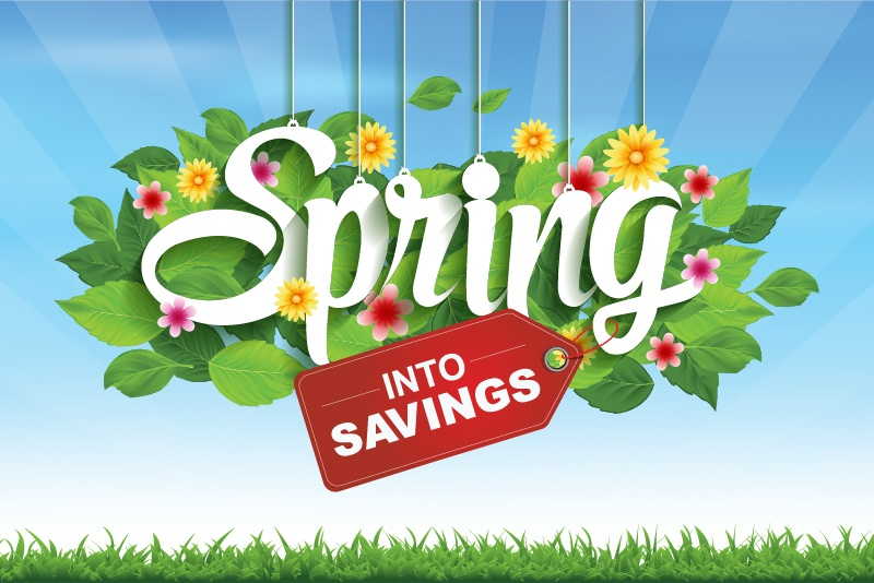 February 2017 – Spring into Savings