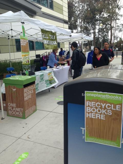 The Wildcat Bookstore Tells Students: Recycle, Reuse and Receive Some Cash!