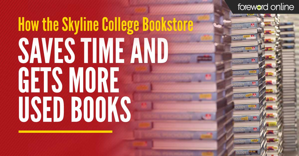 How the Skyline College Bookstore Saves Time and Gets More Used Books