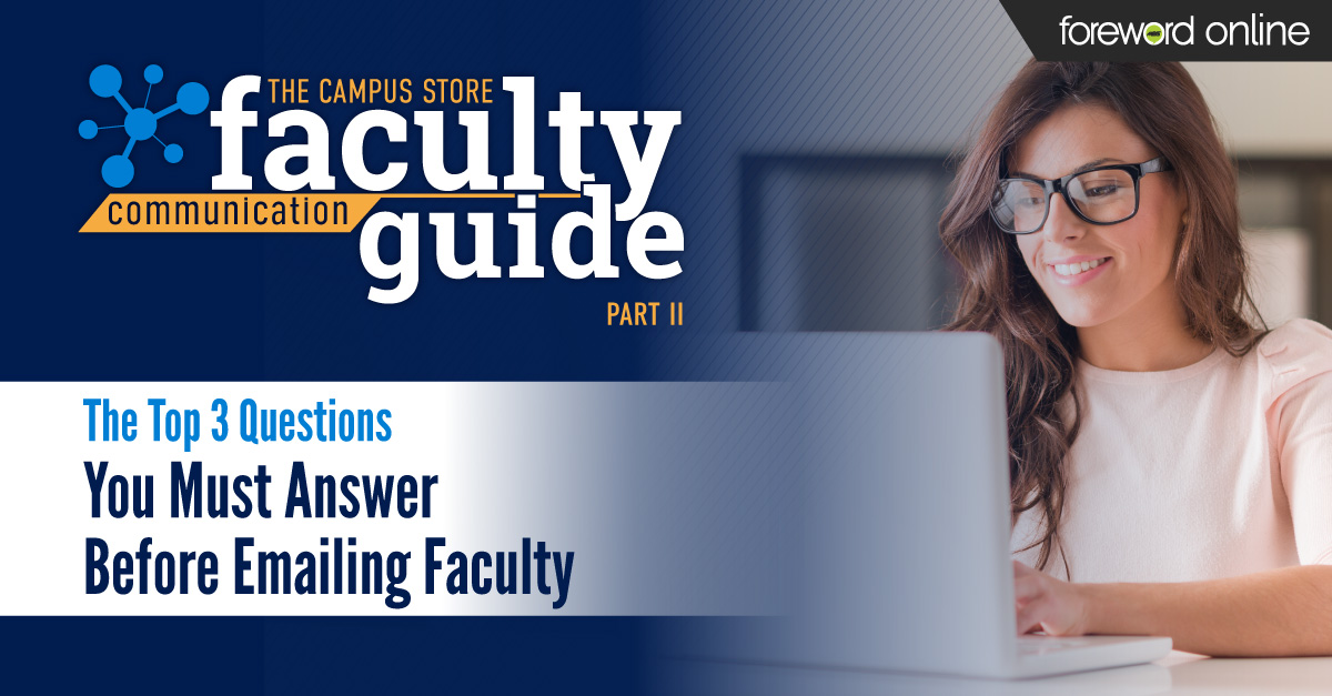 The Top 3 Questions You Must Answer Before Emailing Faculty