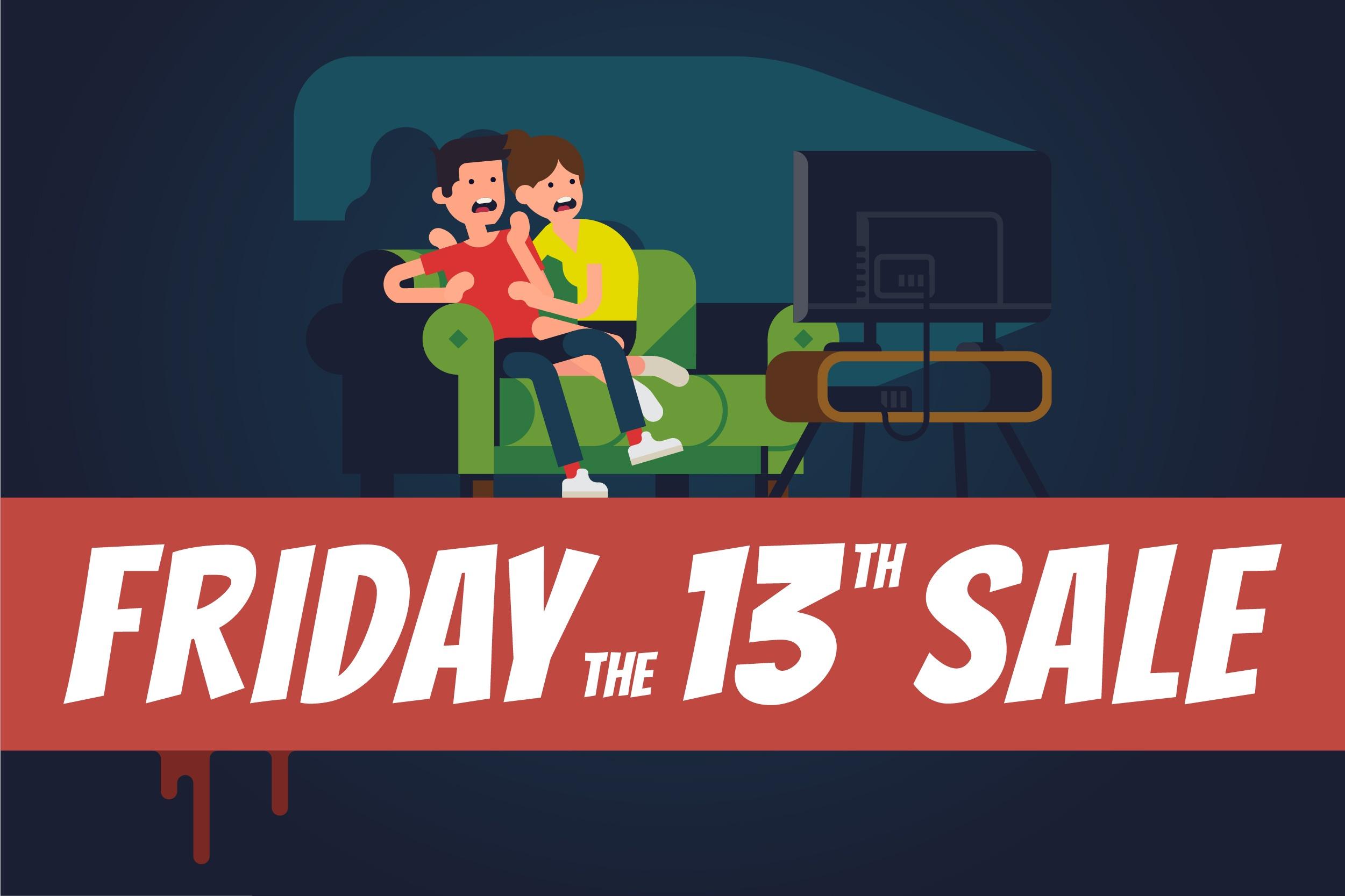 Slash Prices Next Friday the 13th