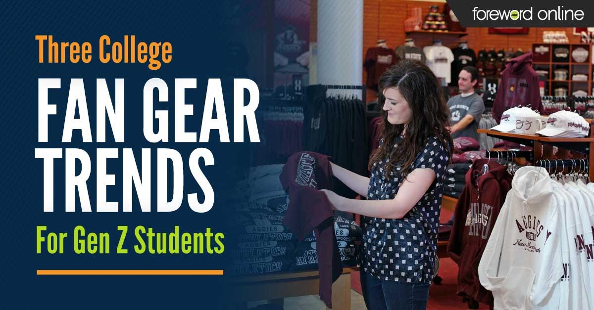Three College Fan Gear Trends for Gen Z Students